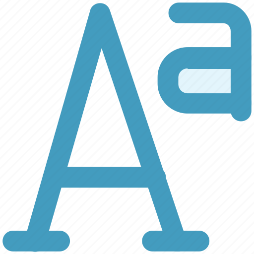 a sign, double a, language, letter, point, sign icon
