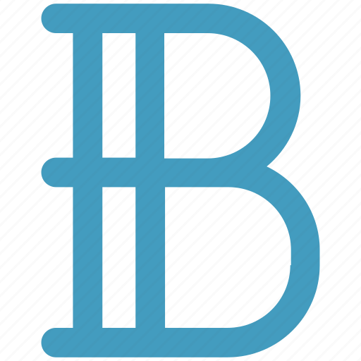 Edit, text, b sign, font icon