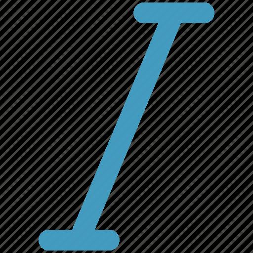 edit, font, italic, text icon