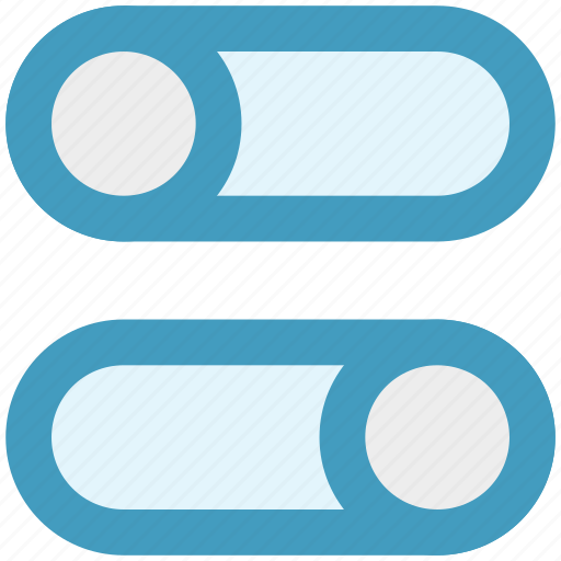 off, on, options, power, setting, switches, toggles icon