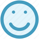emoji, emotion, face, happy, happy face, smile, smiley face icon