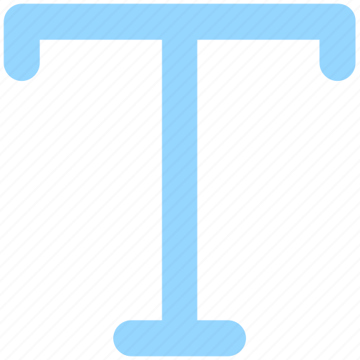 font, t sign, text, type icon