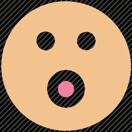 emoji, emoticons, emotion, face, smiley face, surprise icon