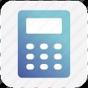 accounting, calc, calculation, calculator, machine, math icon