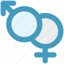 femail, gender, male, sex, sexual, sign icon
