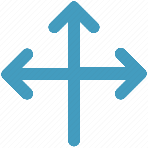 arrows, left, right, share, sharing, up icon