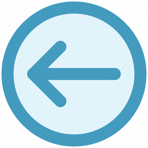 Arrow, circle, forward, left, material icon - Download on Iconfinder