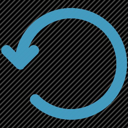 arrow, circle, line, loading, rotate, sync icon