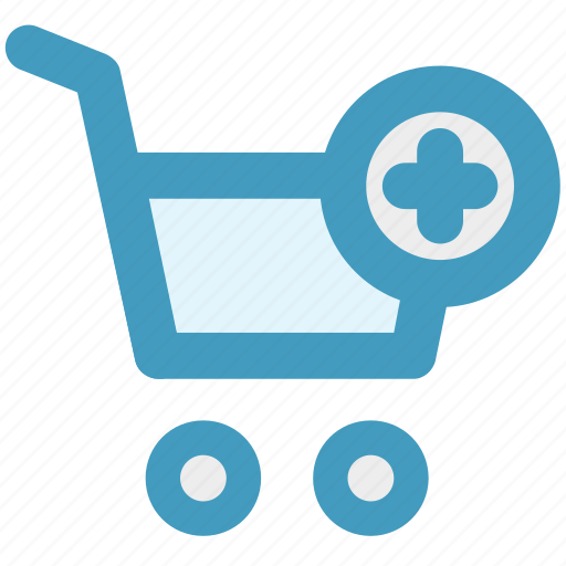 Add, cart, ecommerce, plus, shopping, shopping cart icon - Download on Iconfinder
