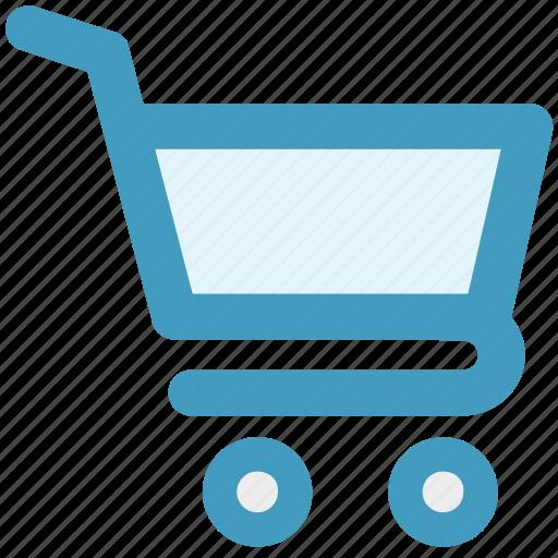 basket, cart, ecommerce, shopping, shopping cart, trolley icon