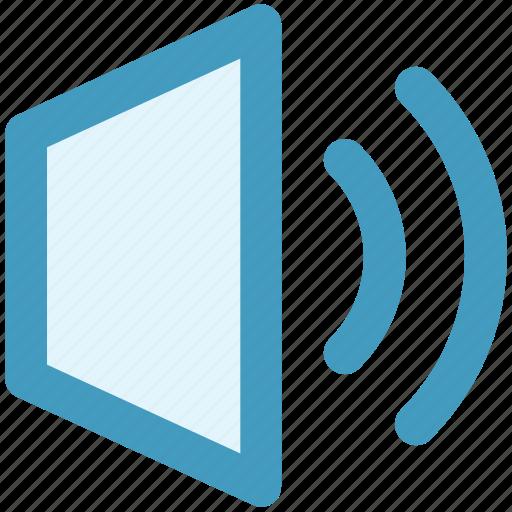 sound, sound on, volume, volume on icon