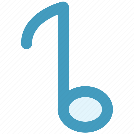 eighth, multimedia, music, note, song, sound icon