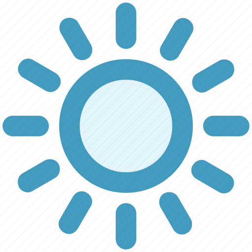 brightness, light, summer, sun, sunlight, weather icon