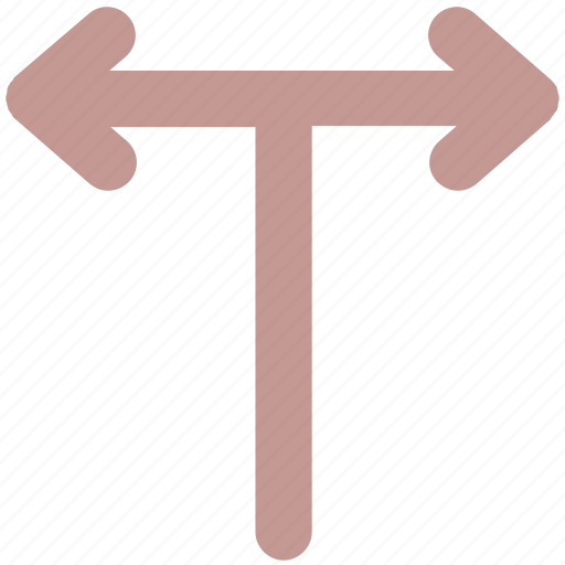 arrows, directions, left, right, share, sharing icon