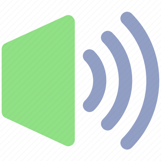 full sound, full volume, sound on, volume, volume on icon