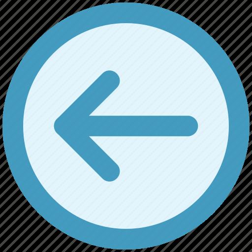 arrow, forward, left, left arrow icon