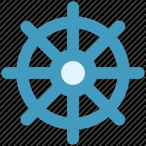 boat, handle, sail, ship handle, ship wheel, wheel icon