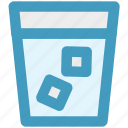 cool water, drink, drinking, glass, water icon