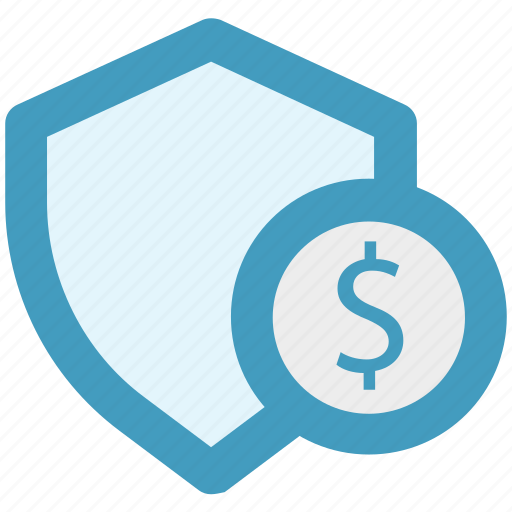 Dollar, money, secure, security, shield, sign icon - Download on Iconfinder