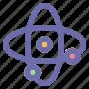 astronomy, atom, galaxy, space icon