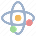 astronomy, atom, galaxy, space, universe icon