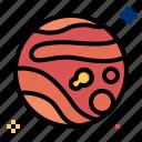 mars, planet, space, star