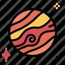 planet, space, star, venus icon