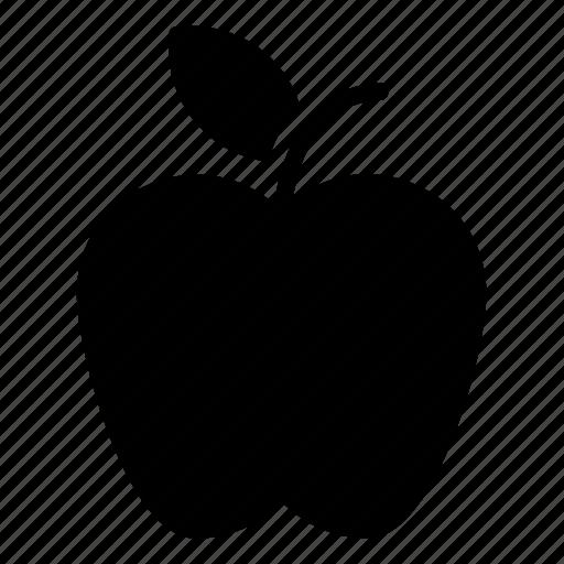 apple, fruit, healthy breakfast, healthy diet, nutrition icon