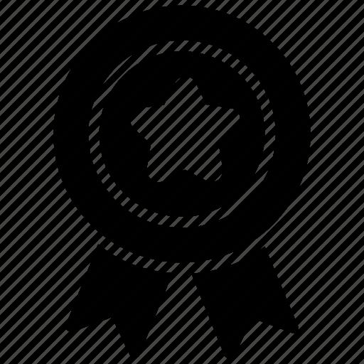 Badge, premium, prize, quality, ribbon badge icon - Download on Iconfinder