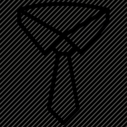 Attire, clothing, dress code, necktie, tie icon - Download on Iconfinder