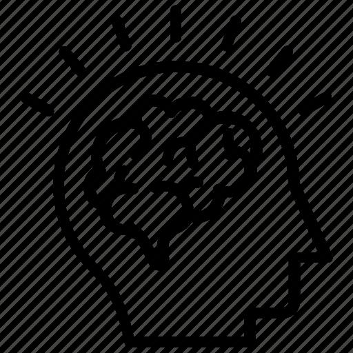 Brainstorming, creative mind, creative thinking, intelligent, mind power icon - Download on Iconfinder