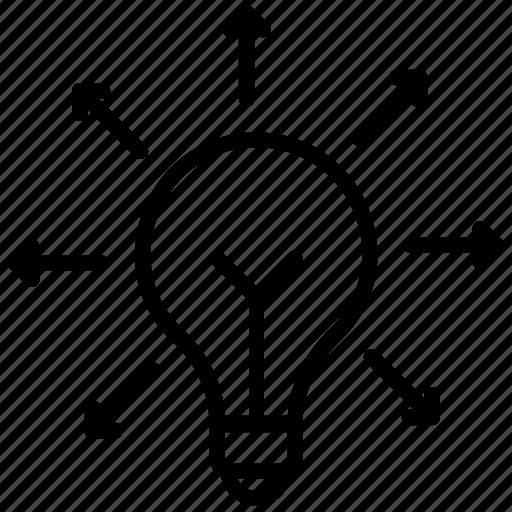 Creative idea, idea exchange, idea share, innovation, new idea icon - Download on Iconfinder