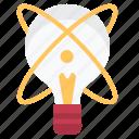 creative, idea, innovation, lamp