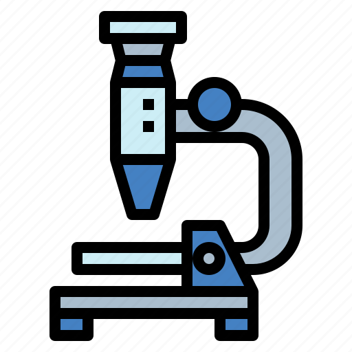 microscope, observation, science, scientific icon