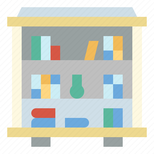 book, education, library, study icon