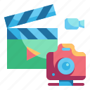 camera, cinematics, entertainment, photo, photograph icon