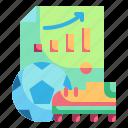 edcucation, football, science, sports, university icon