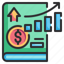 business, economics, education, finance, money icon