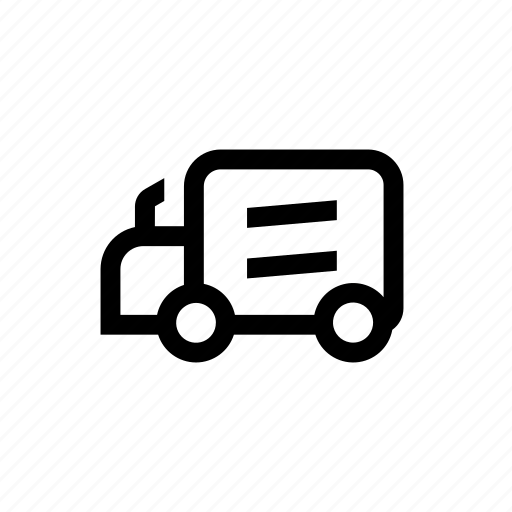 bay, cargo, loading, truck, vehicle icon