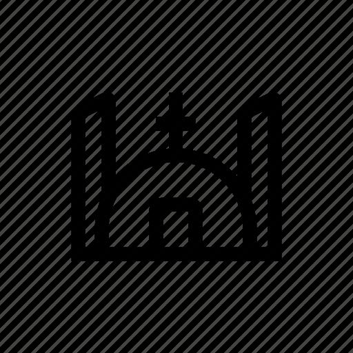 Catholic, chapel, christ, christian, church, jesus, religion icon - Download on Iconfinder