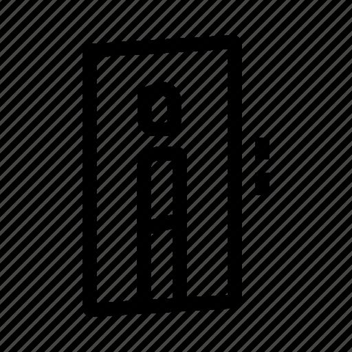 downwards, elevator, floor, level, upwards icon