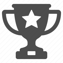 award, competition, cup, prize, star, trophy, winner icon