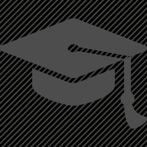 college, education, graduate, graduation cap, hat, school, university icon