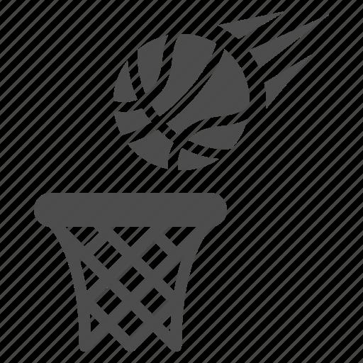 ball, basketball, hoop, playing, sport icon