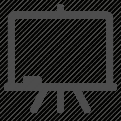 blackboard, chalkboard, classroom, projection screen icon