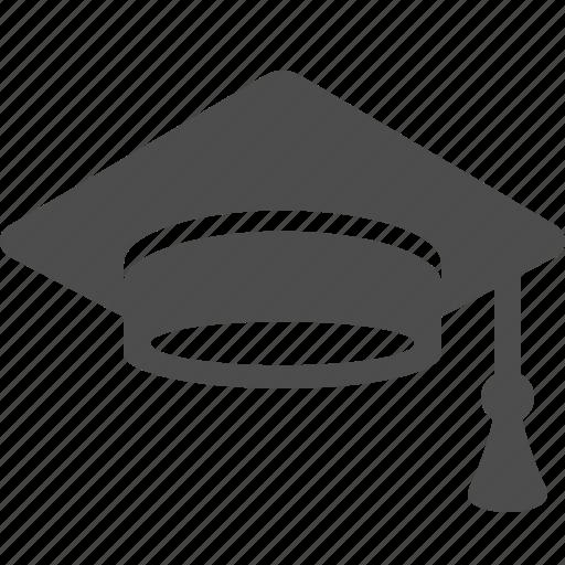 college, education, graduate, graduation cap, graduation hat, high school, university icon