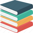 academics, books, chapters, course, library, literature, materials icon