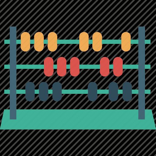 abacus, calculations, calculator, college, logic, math, school icon
