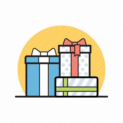birthday, box, christmas, gifts, holiday, present, ribbon icon