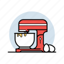 appliance, cook, egg, food, kitchen, mixer, stand icon